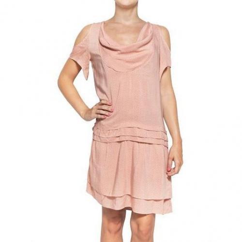 2 Two Bedrucktes Voile Kleid