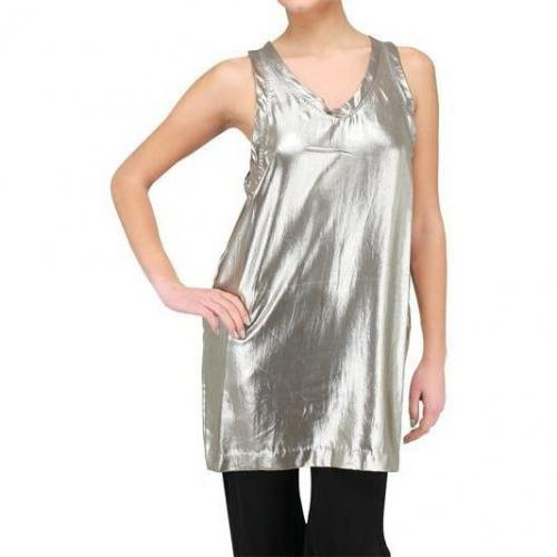 3.1 Phillip Lim Metallic Cupro Dress