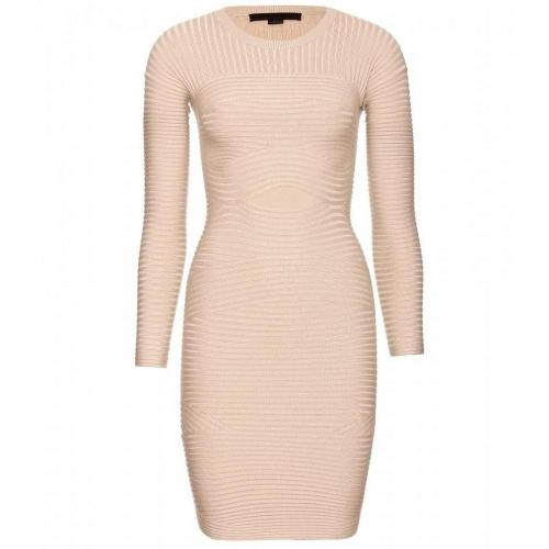 Alexander Wang Bodycon-Kleid Creme
