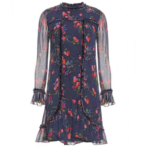 Anna Sui Print-Kleid Aus Seide