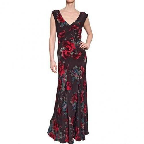 Antonio Marras Druck Crepe De Chine Kleid