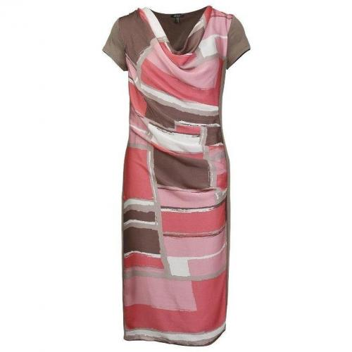 Apart Etuikleid Pink Muster