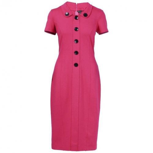 Apart Jerseykleid Pink mit kurzen Ärmeln