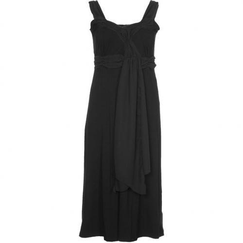 aprico Jerseykleid black