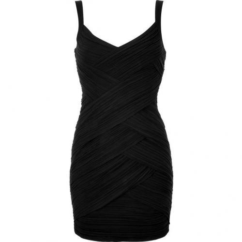 Bailey 44 Black Draped Mayhem Dress