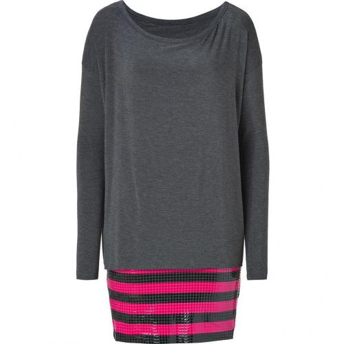 Bailey 44 Charcoal/Pink Mayzie The Lazy Dress