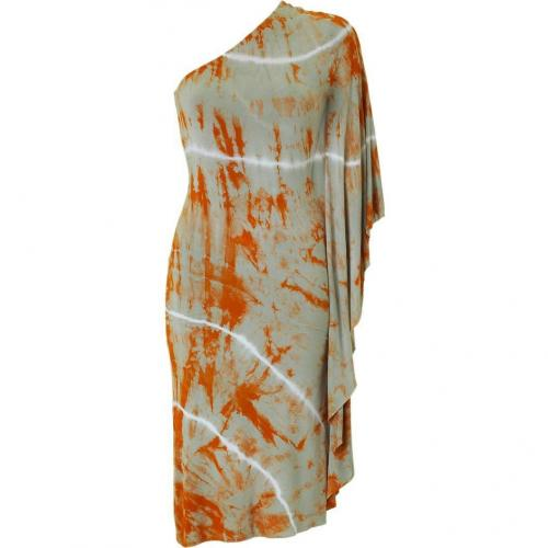 Bailey 44 Orange Tie Dye Dress Kimodo Dragon