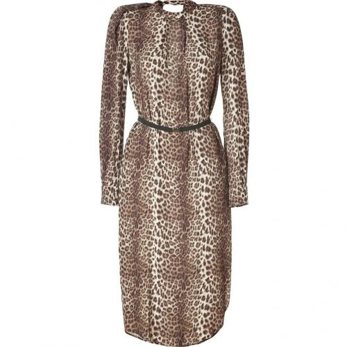 By Malene Birger Brown Leopard Dress