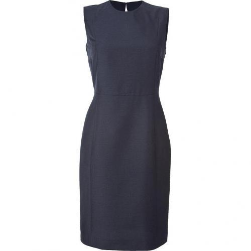 Calvin Klein Collection Night Blue Sleeveless Kleid
