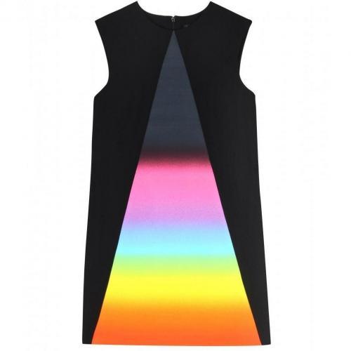 Christopher Kane Kleid Mit Regenbogen-Einsatz