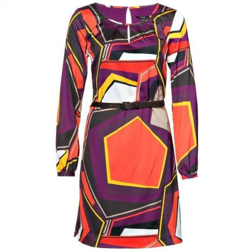 Comma Tunika-Kleid Lila