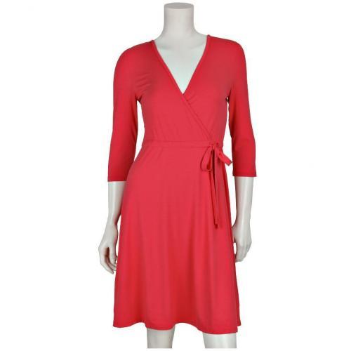 Darling Harbour Kleid Rot mit Ärmeln
