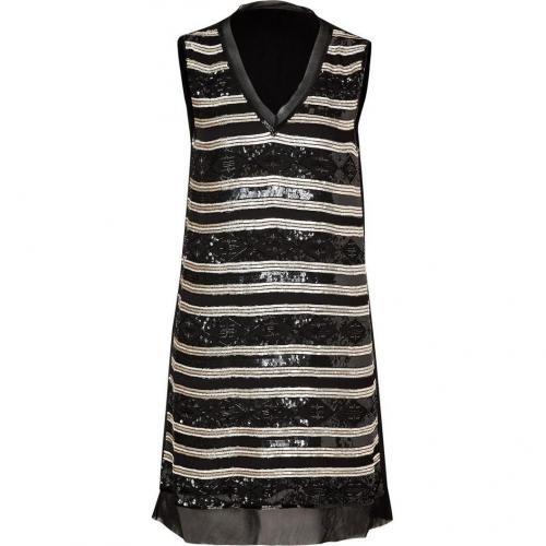 Day Birger et Mikkelsen Black Beaded Silk Dress