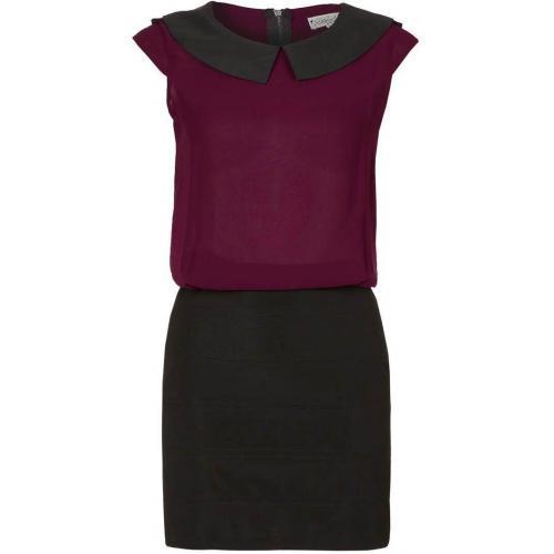 Deby Debo Granit Cocktailkleid / festliches Kleid bordeaux/noir