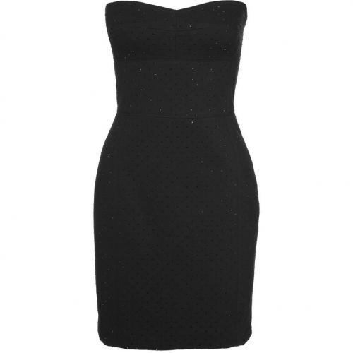 Dkny Cocktailkleid / festliches Kleid black Trägerlos
