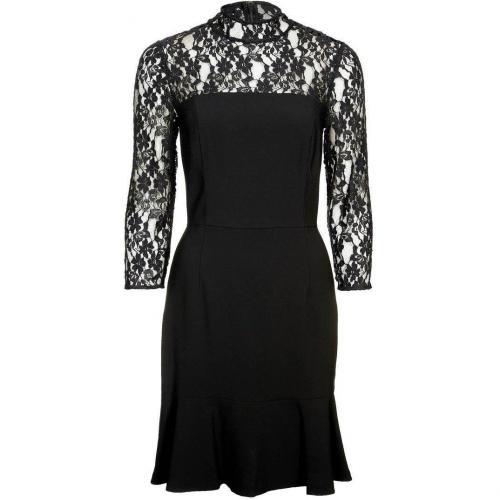 Dkny Cocktailkleid / festliches Kleid black weißes Muster