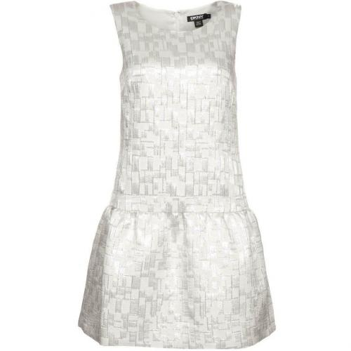 Dkny Cocktailkleid / festliches Kleid pearl/silver