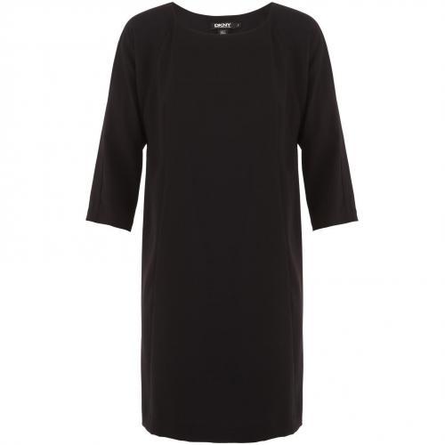 DKNY Kleid mit 3/4-Ärmeln Schwarz