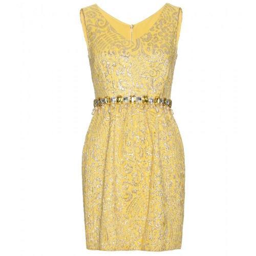 Dolce & Gabbana Jacquard-Kleid