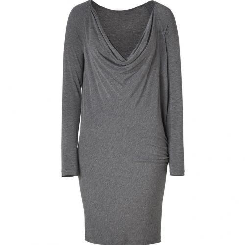 Donna Karan Grey Jersey Cocoon Kleid