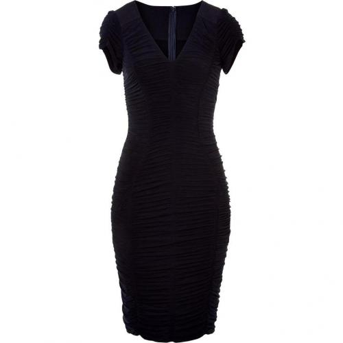 Donna Karan Obsidian Dramatic Draped Kleid