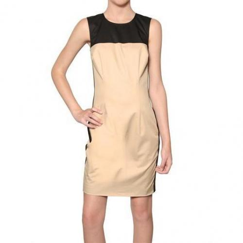 Dsquared Multicolor Baumwoll Twill Kleid