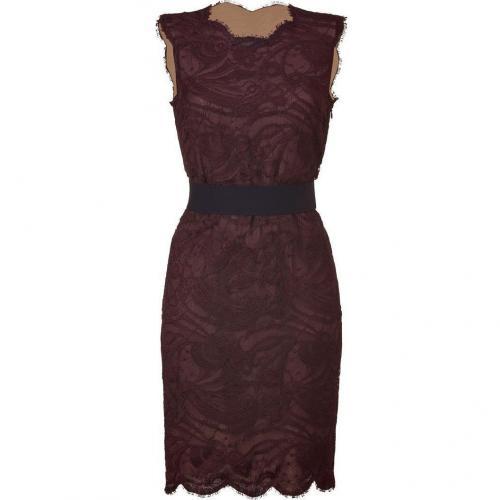 Emilio Pucci Barolo Lace Dress with Elastic Belt