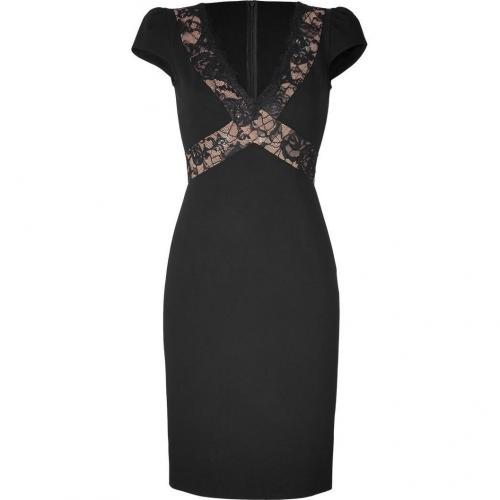 Emilio Pucci Black Dress with Lace Panels