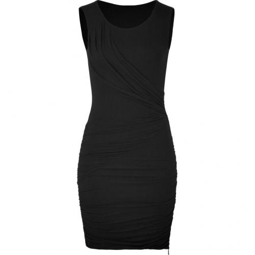 Faith Connexion Black Sleeveless Draped Dress