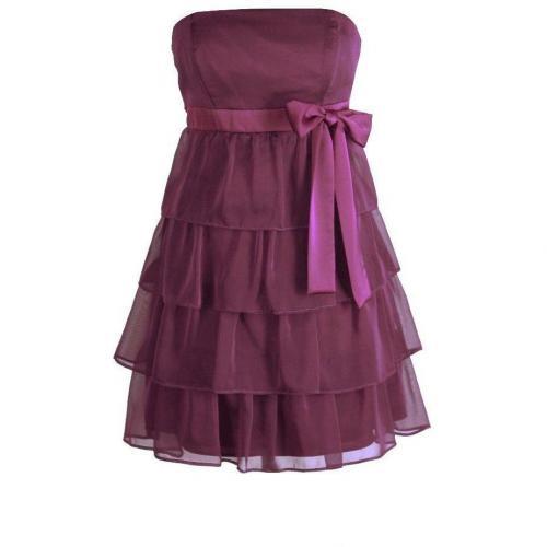 Fashionart Ballkleid lila mit Hüftschleifchen