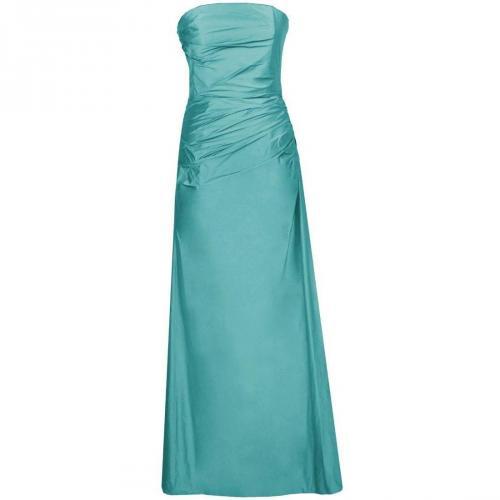 Fashionart langes Ballkleid grünblau