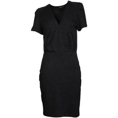 Filippa K Jersey-Kleid Crossover anthrazit meliert