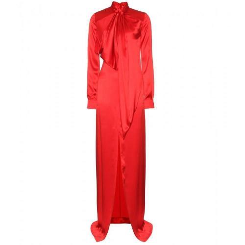 Givenchy Bodenlanges Seidenkleid