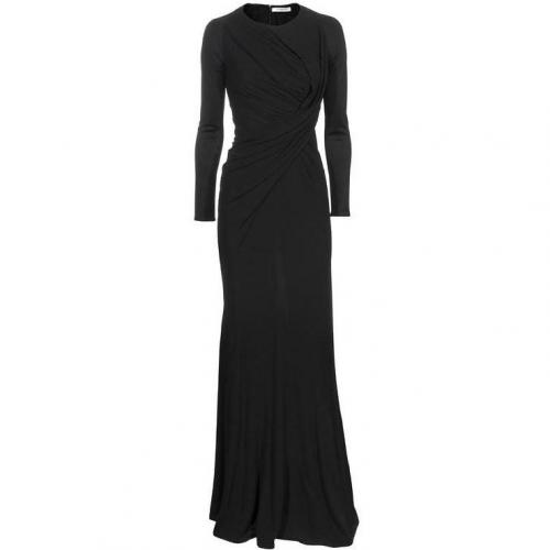 Givenchy Draped Maxi Black