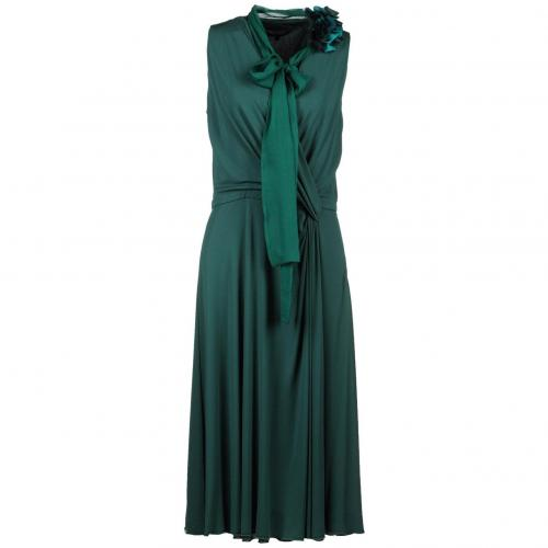 Gucci Knielanges Kleid Dunkelgrün