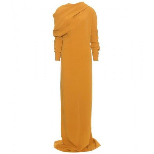 Haider Ackermann Langes Kleid Mit Drapierung