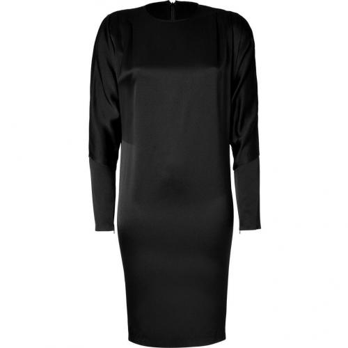 Hakaan Black Dolman Sleeve Dress