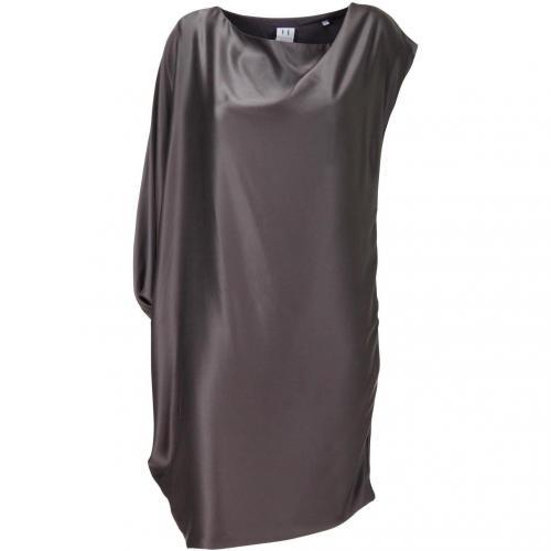 Halston Kleid grau