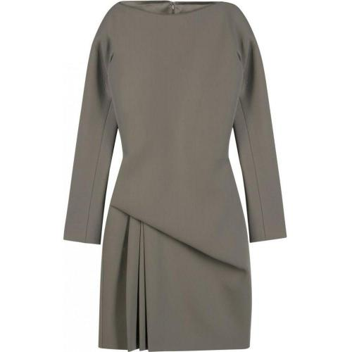 Halston Sculpted Drape Dress
