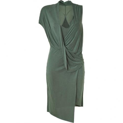 Helmut Lang Pond Draped Dress