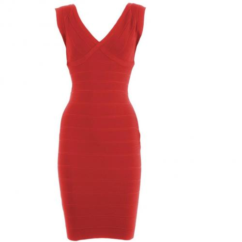 Herve Leger Red Dress Amee