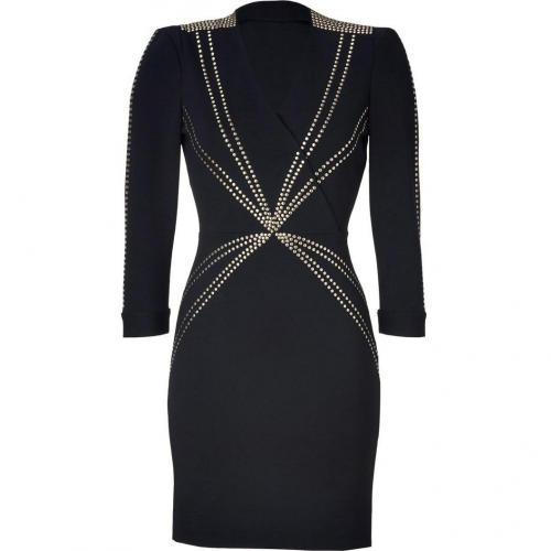 Hoss Intropia Black Studded Dress