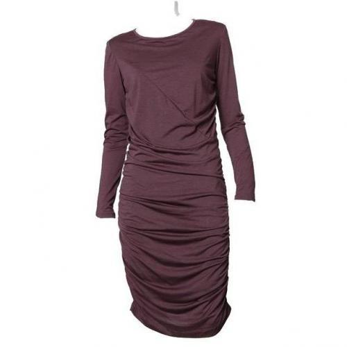 Iheart Jersey-Kleid Lotte pflaume