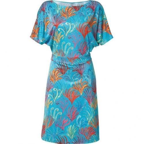 Issa Sea Kimono Sleeve Silk Jersey Dress
