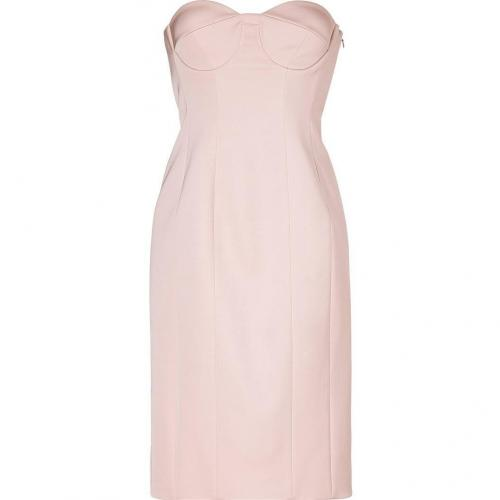 Jil Sander Bonbon Pink Bustier Dress