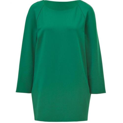 Jil Sander Bottle Green Mini-Dress