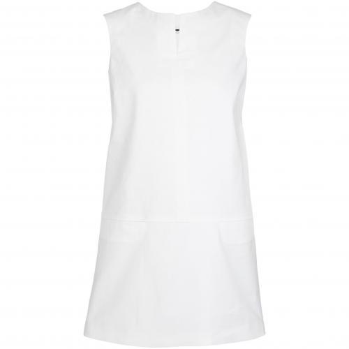 Jil Sander Kleid Weiß