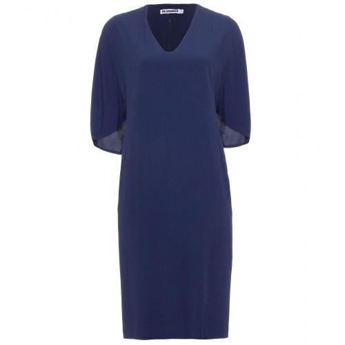 Jil Sander Louvre Cape-Inspiriertes Kleid
