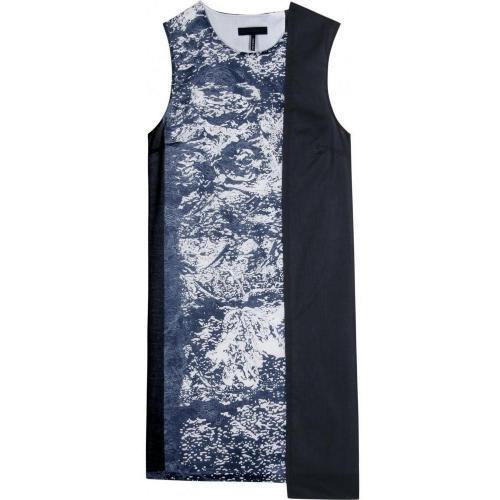 Jil Sander Navy Gemustertes Kleid