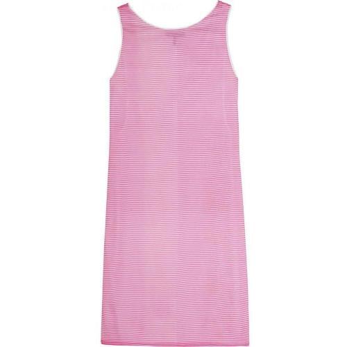 Jil Sander Navy Kleid Mit Streifenmuster